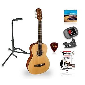 Fender MA-1 3/4 Size Steel String Guitar Bundle by Fender