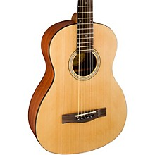 Fender MA-1 Parlor 3/4 Size Acoustic Guitar Level 1 Agathis Top Satin Body Finish
