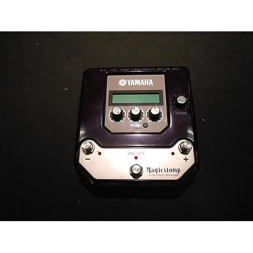 Yamaha MAGICSTOMP Silver Effect Processor-thumbnail