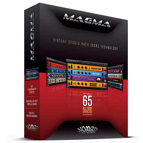 Nomad Factory MAGMA Virtual Studio Rack Software Plug-In-thumbnail