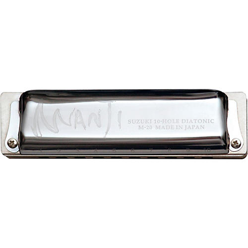 Suzuki MANJI Harmonica Major 7th Tuned-thumbnail