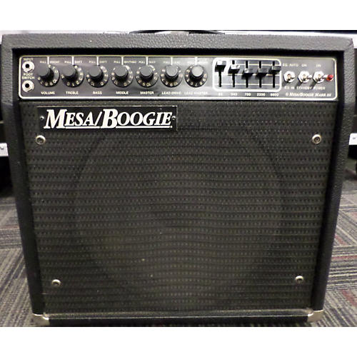 Mesa Boogie MARK III GREEN STRIPE Tube Guitar Combo Amp