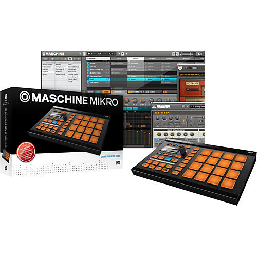 native instruments maschine mikro groove production studio guitar center. Black Bedroom Furniture Sets. Home Design Ideas