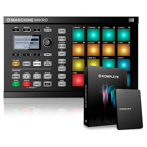 Native Instruments MASCHINE MIKRO MK2 with KOMPLETE 11-thumbnail