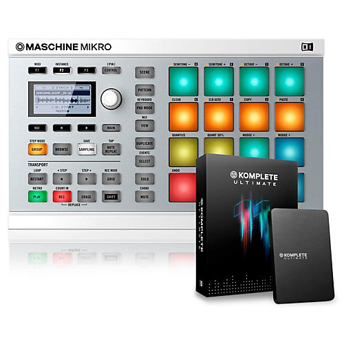 Native Instruments MASCHINE MIKRO MK2 with KOMPLETE 11 Ultimate