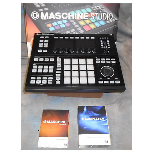 Native Instruments MASCHINE STUDIO BLACK WITH KOMPLETE 9 CROSSGRADE WITH TRANSFER ID'S MIDI Controller-thumbnail