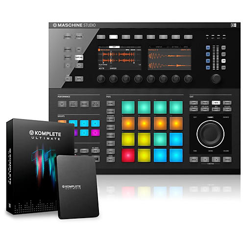 Native Instruments MASCHINE STUDIO with KOMPLETE 11 Ultimate-thumbnail