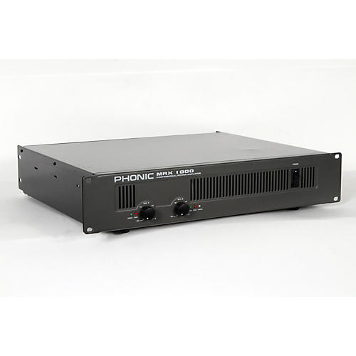 Phonic MAX 1000 Power Amplifier-thumbnail