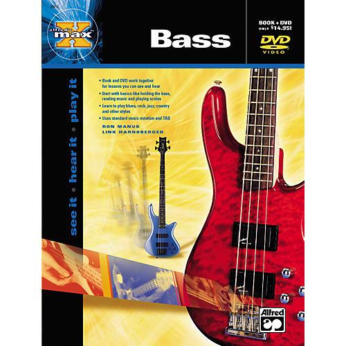 Alfred MAX Series Bass Instruction (Book/DVD)-thumbnail