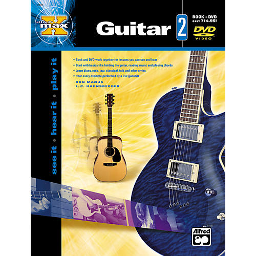 Alfred MAX Series Guitar Instruction 2 (Book/DVD)-thumbnail