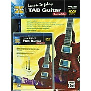 Alfred MAX Tab Guitar Complete (Book/DVD)