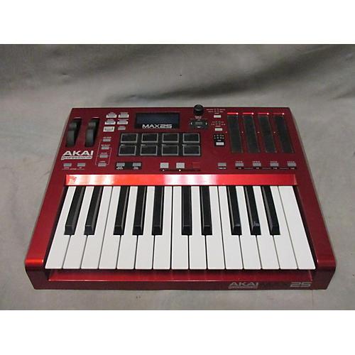used akai professional max25 25 key midi controller guitar center. Black Bedroom Furniture Sets. Home Design Ideas
