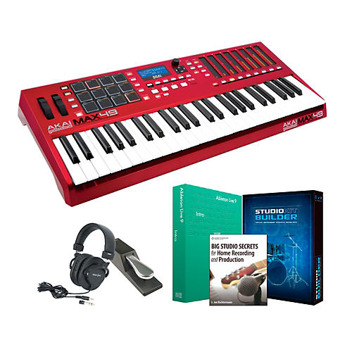 Akai Professional MAX49 Keyboard Controller Package 1