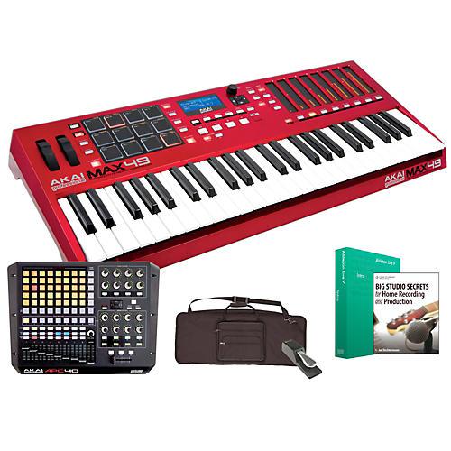 Akai Professional MAX49 and APC40 Controller Package-thumbnail
