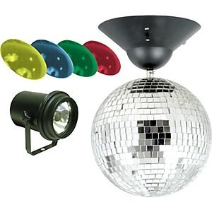 American DJ MB-8 8 inch Mirror Ball Package by American DJ