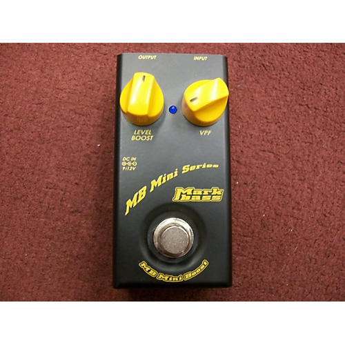 Markbass MB MINI BOOST Bass Effect Pedal