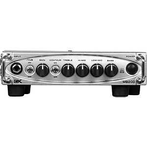 Gallien-Krueger MB200 200 Watt Ultra Light Bass Amp Head by Gallien Krueger