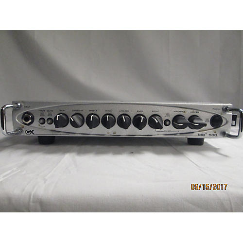 Gallien-Krueger MB500 500W Ultralight Bass Amp Head-thumbnail