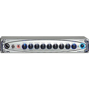 Gallien-Krueger MB800 800 Watt Ultralight Bass Amp Head