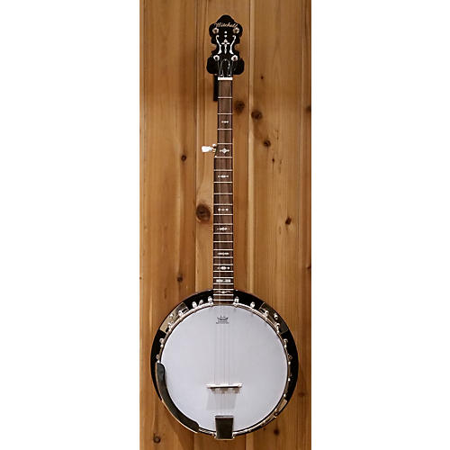 Mitchell MBJ200 5 String Banjo Dark Cherry Burst