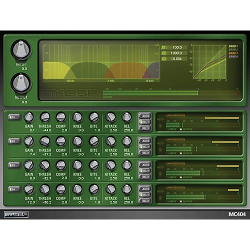 McDSP MC2000 Native v6 Software Download