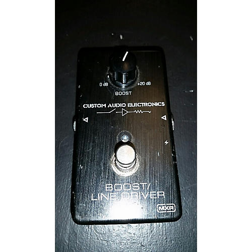 MXR MC401 Boost Line Driver Effect Pedal