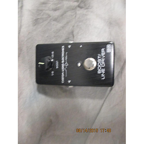 MXR MC401 Boost Line Driver Trans Black Effect Pedal
