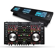 Denon MC6000Mk2 Digital Mixer and Controller with Dashboard 3-Screen Display