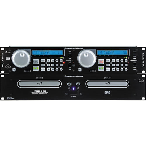 American Audio MCD-510 Professional DJ Dual MP3/CD Player-thumbnail