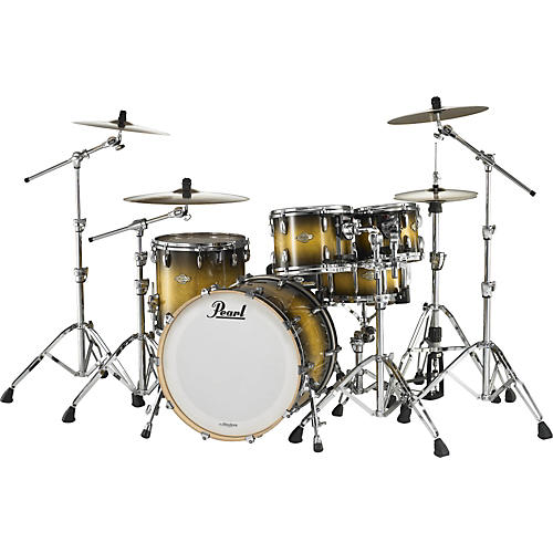 Pearl MCX 4-Piece Shell Pack Box A Quilted Bubinga Sunburst