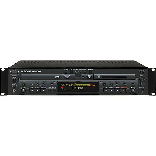 Tascam MD-CD1 MiniDisc/CD Combo Deck-thumbnail