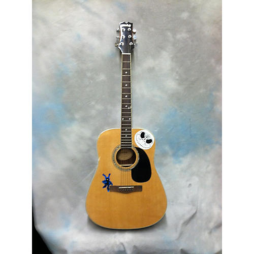 Mitchell MD100 Natural Acoustic Guitar-thumbnail
