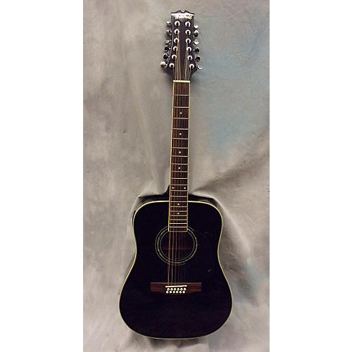 used mitchell md100s12e black 12 string acoustic electric guitar guitar center. Black Bedroom Furniture Sets. Home Design Ideas