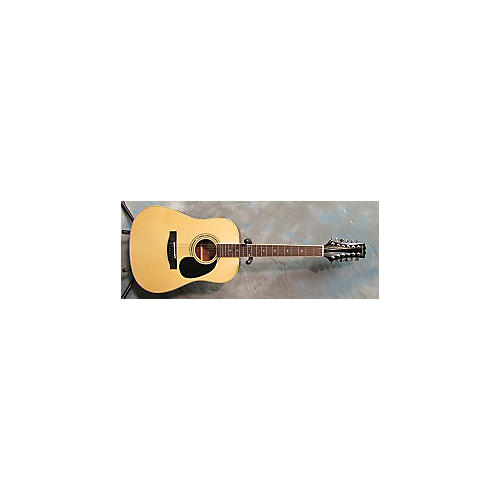 Mitchell MD100S12E Natural 12 String Acoustic Electric Guitar