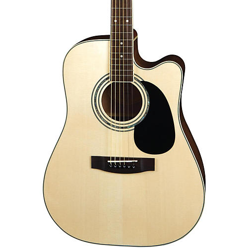 Mitchell MD100SCE Dreadnought Cutaway Acoustic-Electric Guitar-thumbnail