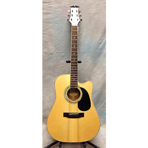 Mitchell MD100SCE Natural Acoustic Electric Guitar-thumbnail