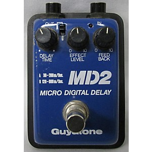 Pre-owned Guyatone MD2 MICRO DIGITAL DELAY Effect Pedal