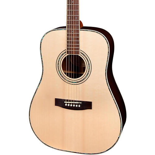 Mitchell MD300S Solid Spruce Top Acoustic Guitar Gloss Natural