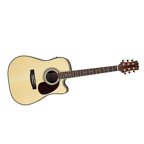 Mitchell MD300SCE Acoustic-Electric Guitar Natural