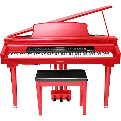 Suzuki MDG-300 Micro Grand Digital Piano Soft Red-thumbnail