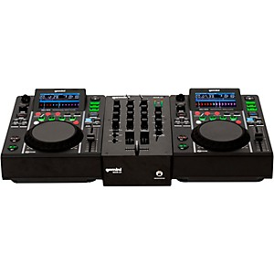 Gemini MDJ-500 Performance Pack with Mixer, Microphone and Headphones by Gemini