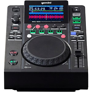 Gemini MDJ-500 Professional USB DJ Media Player by Gemini