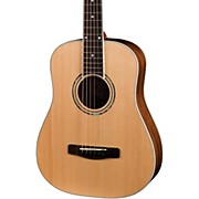 MDJ10 Junior Dreadnought Acoustic Guitar with Gig Bag Natural