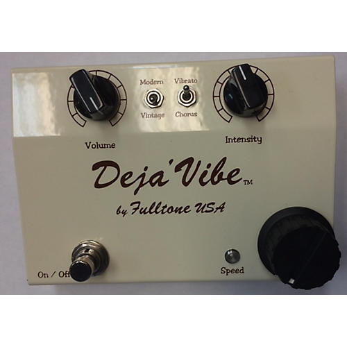 Fulltone MDV Cream Mini Dejavibe Effect Pedal