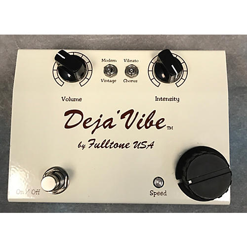 Fulltone MDV Cream Mini Dejavibe Effect Pedal-thumbnail