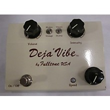 Fulltone MDV Cream Mini Dejavibe Effect Pedal