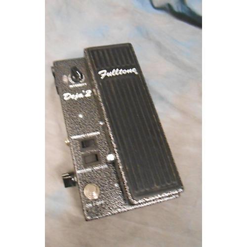 Fulltone MDV2 Mini Dejavibe 2 Black Effect Pedal-thumbnail