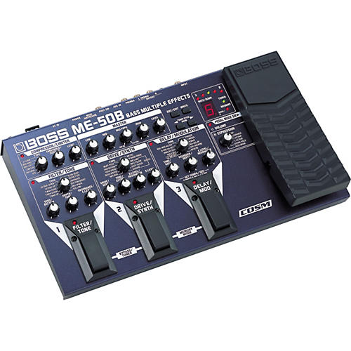 Boss ME-50B Bass Multiple Effects with COSM
