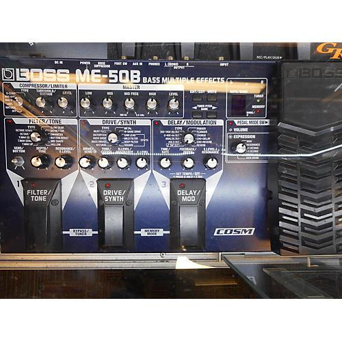 Boss ME-50B Pedal Board