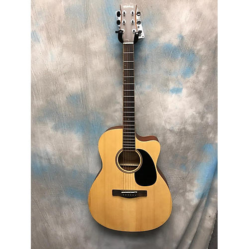 used mitchell me1ace acoustic guitar natural guitar center. Black Bedroom Furniture Sets. Home Design Ideas